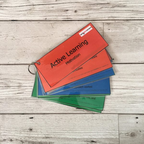 133 Characteristics of Effective Learning Cards
