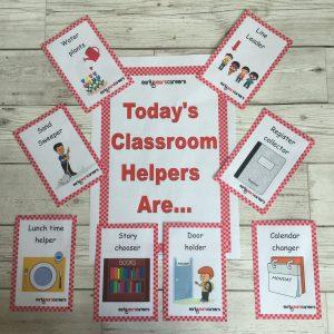 136 Classroom Helper Cards