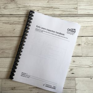 139 Early Years Inspection Handbook