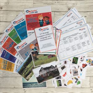 168 Together Let's Talk Communication and Language 6T Strategy Resource Pack