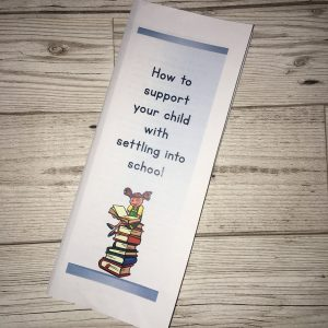 182 Starting school leaflet