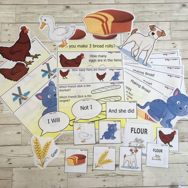 238 The Little Red Hen Story Sack Resources